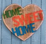 Herz, Holz und  die Liebe zum Zuhause - Heart, Hime sweet Home - Coeur, bois et l amour au foyer