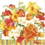 Bunter Blumenstrauß - Coloured bouquet - Bouquet de fleurs multicolore