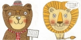 Bär, Löwe, Hungry, Bärenhunger - Bear, lion, Hungry, hunger - Ours, lion, Affamé