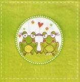 2 verliebte Frösche - 2 frogs in love - 2 grenouilles tombées amoureuses