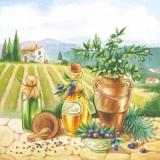 Mediterrane Landschaft, Oliven & Olivenöl - Mediterranean landscape, olives & olive oil - Paysage méditerranéen, olives & huile dolive