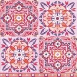Muster Lila, rose, blau, Kacheln - Pattern Purple, pink, blue, tiles - Modèle Lilas, la rose, bleu, des carreaux de faïence