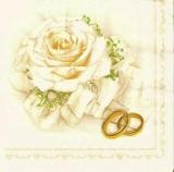 Helle Rose & Eheringe, Trauringe - Bright Rose & wedding rings - anneaux rose vif et mariage