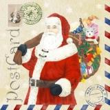 Post vom Nordpol, vom Weihnachtsmann - Post card from the noth pole from Santa - Poste la carte du pôle Nord, de lhomme de Noël