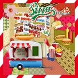 Imbiss, Pizza, Hot Dog, Hamburger...... - Retro, Vintage, Nostalgie, Fast Food -