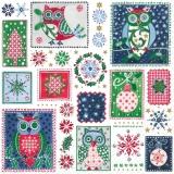 Eulen im Winter - Owls - Hiboux