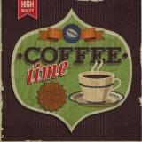 Zeit für eine Tasse Kaffee , Coffee time, fresh brewed - Temps pour une tasse de café