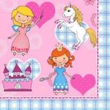 Prinzessin, Pferd, Fee & Schloß - Princess, Horse, Fairy, Castle - Princesse, château, cheval, fée