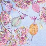 Baum voller Blüten & Laternen - Tree full of blossoms & lanterns - Arbre de fleurs et des lanternes pleines