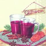 Glühwein mit Sternanis & Zimt - Mulled wine with cinnamon & star anise - Vin chaud à la cannelle et lanis étoilé