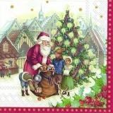Nostalgie, Weihnachtsmarkt, Weihnachtsmann, Kinder & Geschenke - Nostalgia, Christmas Market, Santa Claus, children & Gifts - Nostalgie, Marché de Noël, le Père Noël, les enfants et cadeaux