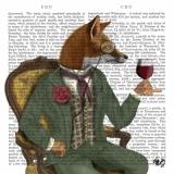 Fuchs, Zeitung, Lord, Fox, Newspaper - Renard, Journal