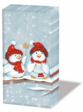 3 kleine Weihnachtsvögel - 3 little christmas birds - 3 petits oiseaux de Noël