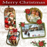 Nostalgische Weihnacht & Winterlandschaft - Vintage Christmas & Winter Landscape - Noël & paysage dhiver nostalgique