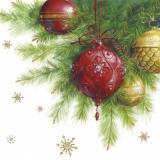 Hübsche Wihnachtsdekoration mit Kristallsteinen, Weihnachtskugeln - Pretty christmas decoration with crystals, christmas balls - décoration de Noël Jolie avec cristaux, boules de noël