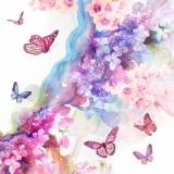 Schmetterlinge im Farbenrausch - Butterflies bewitched by colors - Papillons infatués avec des couleurs