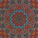 Kaleidoskopmuster - kaleidoscope pattern - motif de kaléidoscope