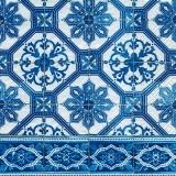 Blaue Fliesen - Blue tiles - carreaux bleus
