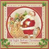 Nostalgischer Weihnachtsmann mit vielen Geschenken - Vintage Santa with lots of gifts - Santa nostalgique avec beaucoup de cadeaux