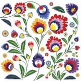 Blumen in Bauernmalerei - Flowers in  Folk Art Painting - Fleurs dans l art folklorique