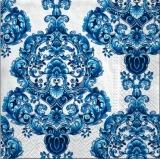 Wunderschönes, edles, blaues Ornament - Beautiful, noble, blue ornament - Belle, élégante, Ornement bleu