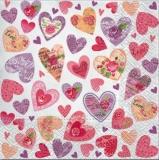 Viele romantische Herzen - Many, romantic hearts - Beaucoup de coeurs romantiques