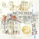 Stadtrundfahrt durch München, Bayern - City tour through Munich, Bavaria, Germany - Visite de Munich, Bavière, Allemagne