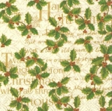 Ilex, Stechpalme, Geschriebenes & Schrift - Holly, Writting & Fonts - houx, écrite