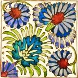 Blumenmuster Persia - Flower pattern Persia - Modèle de fleurs Persia