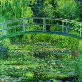 Claude Monet, The Water-Lily Pond, Der Seerosenteich, Étang de nénuphars