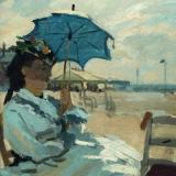 Claude Monet, Am Strand von Trouville, The Beach at Trouville, La plage de Trouville