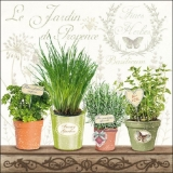 Le Jardin de Provence - Kräutertöpfe - Pots with herbs - Pots d herbes