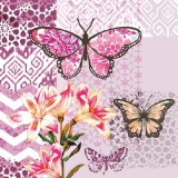 Schmetterlinge & Lilien - Butterflies & Lilies - Papillons & Lily