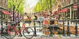 Fahrrad, Amsterdam, Holland, Grachten, Boote, Restaurants, Bistros..... - Bicycle, Amsterdam, Holland, canals, boats, restaurants, bistros ..... - Bicyclette, Amsterdam, Hollande, Grachten, bateaux, r