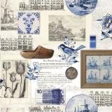 Holland, Windmühlen, Klogs, Fliesen, Gulden...... - Holland, windmills, clogs, tiles, guilders ...... - Hollande, moulins à vent, Klogs, carreaux, florins......