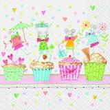 Mäuse, Kleine Kuchen, Feier - Little mice, cupcakes, celebration - Souris, petits gâteaux, fête