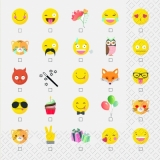 Emojis, emoticons - Eule, Fuchs.... - Owl, Fox... - Hibou, Renard...