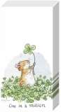 Glücksklee gefunden - Lucky clover, four-leave-clover found - Trouvé un trèfle chanceux, trèfle à quatre feuilles