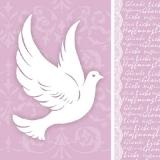 Weiße Taube, Glaube, Hoffnung, Liebe - White dove, faith, hope, love - Pigeon blanc, foi, espoir, amour