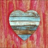 Wunderschönes Herz, Holz - Beautiful heart, wood - Coeur merveilleux, bois