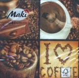 Ich liebe Kaffee - I love Coffee - Jaime du café