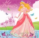 Wunderschöne Prinzessin mit ihrem Schloß - Beautiful princess with her castle - Princesse merveilleuse avec son château