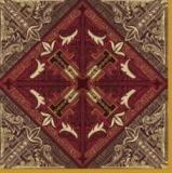 Außergewöhnliches Muster, braun - Unusual pattern brown - Motif inhabituel, brun