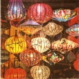Asiatische Lampions, Laternen - Asian Lanterns - Lanternes asiatiques, lanternes chinoises