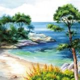 Wunderschöne, kleine, versteckte Meeresbucht - Beautiful, small, hidden bay - Belle, petite baie cachée