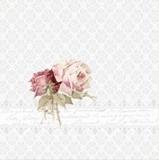 2 nostalgische Rosen - 2 vinatge roses - 2 roses nostalgique