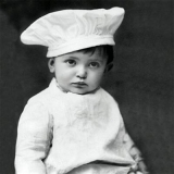 Nostalgischer Koch - Vinatge chef, cook - cuisinier nostalgique