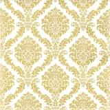 elegantes, goldenes Muster - Elegant, golden pattern - Motif or élégant