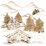 Urlaub in den Bergen - Vacation in the mountains - Congé dans les montagnes