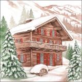 Haus, Winter, Berge, Schnee, Tannen, Urlaub.... - House, winter, mountains, snow, fir, holiday, WInter Chalet  .... - Maison, hiver, montagnes, neige, sapin, vacances ....